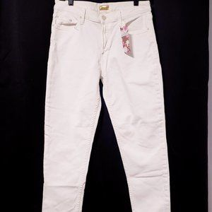"""MOTHER Jeans - Mother """"Dropout"""" in Whipping cream Jeans size 28💋"""